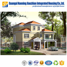 Prefab construction modern light steel villa luxury prefab house