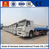 SINOTRUCK HOWO 6x4 water tank truck for sale