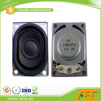 Good sound speaker driver for tablet pc 28*40MM 8ohm 2Watt notebook speaker