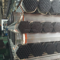 Trade Assurance manufacturing erw steel GI pipe/galvanized iron pipe price/Hot dip galvanized tubing
