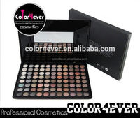 Wholesale cheap cosmetic 88 colors warm Eyeshadow Palette Create your own brand
