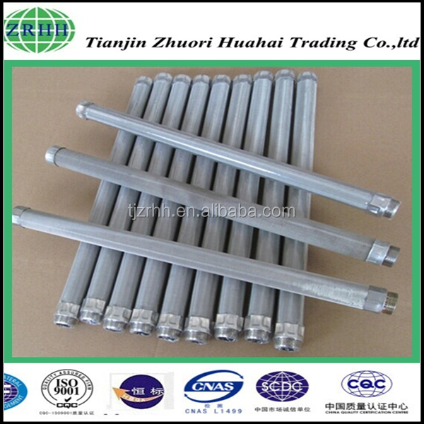 professional supply high performance Stainless steel Candle filter for marine SBC/machine oil/heavy oil filter cartridge