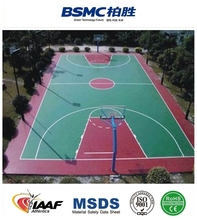 Good Cushion Performance Indoor Basketball Flooring For Sale