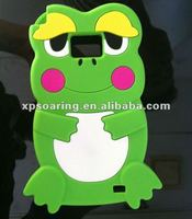 funny frog case back cover for Samsung Galaxy S2 i9100