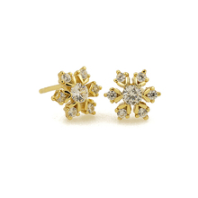 GZ9-113C gold jewelr factory direct high quality AAA cz stone gold earrings stud earrings
