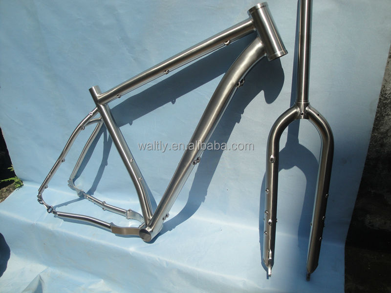 Long lasting 29er mountain bike titanium mtb frame