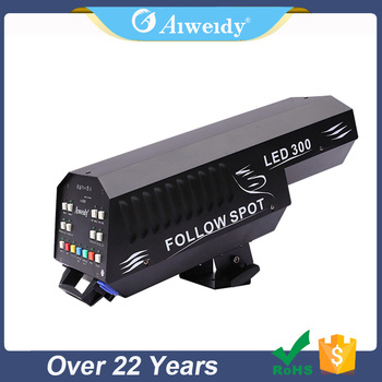 Brightnes wedding pro even party lights 300 follow spot light zoom stage lighting