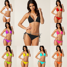 OEM Biquini Femme Bathing Suit Push Up Swimwear High Quality Rhinestone Shiny Sexy bikini