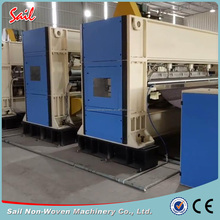 Nonwoven wool felt making machine needle punched nonwoven machine
