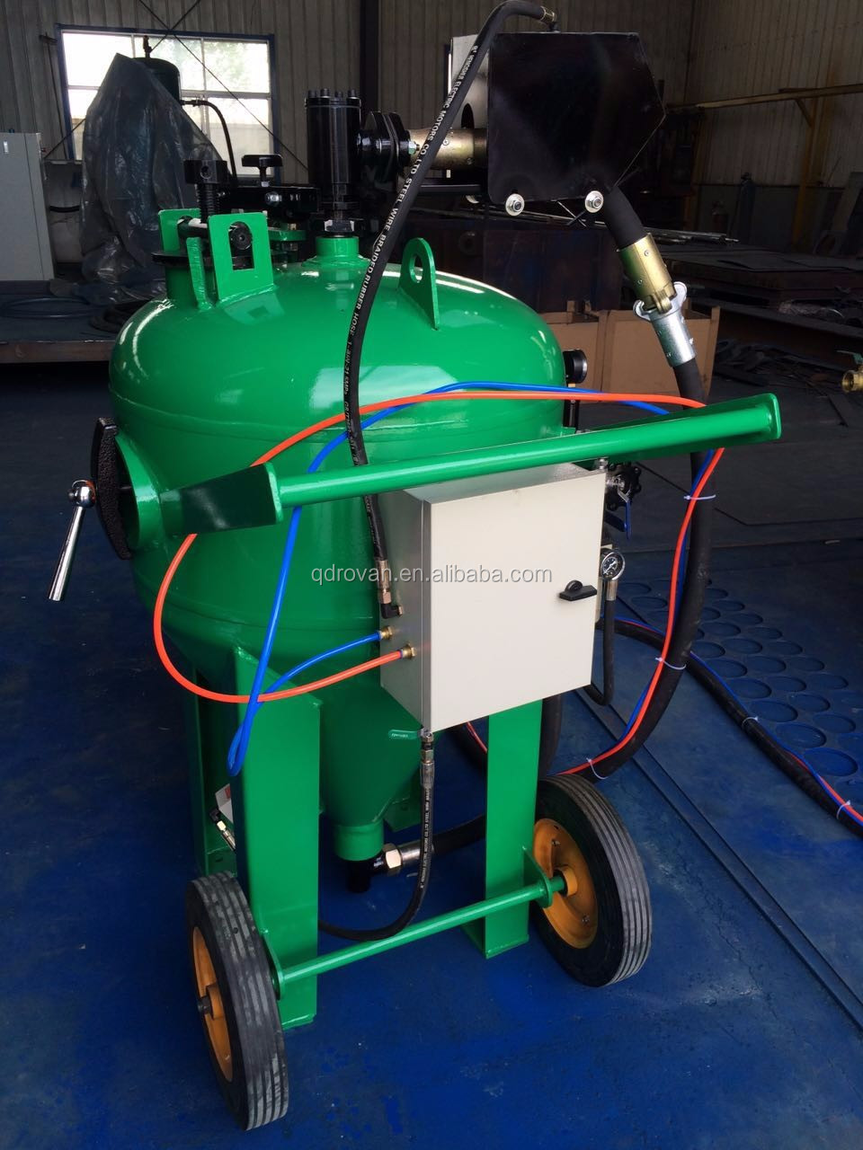 Eco-friendly Dustless Blasting, Protable Wet Dustless Sand Blasting Machine