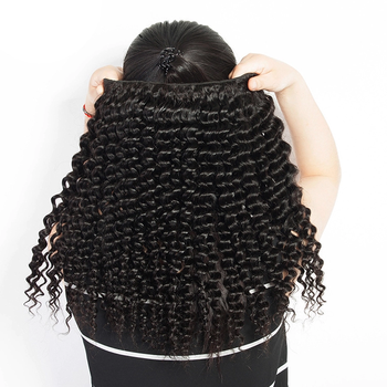 Charming beauty wholesale curly weave 100% human hair extension