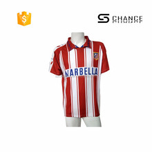 Custom 2017 china football shirt maker soccer jersey