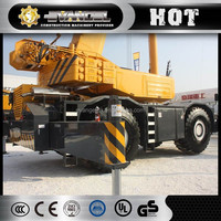 Chinese XCMG Rough Terrain Crane RT100 100 ton hydraulic escort crane price