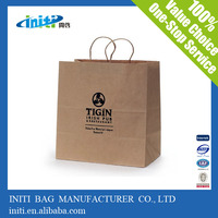 China Manufacturer Recyclable Printed Paper Shopping Bag