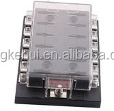 DC32V 12 Way Terminals Circuit ATC ATO Car Auto Blade Fuse Box Block holder