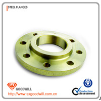 high brightness ductile iron pipe flange