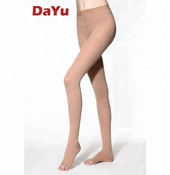 Medical Graduated Compression Pantyhose, Anti-DVT Compression Stockings, Made in Taiwan