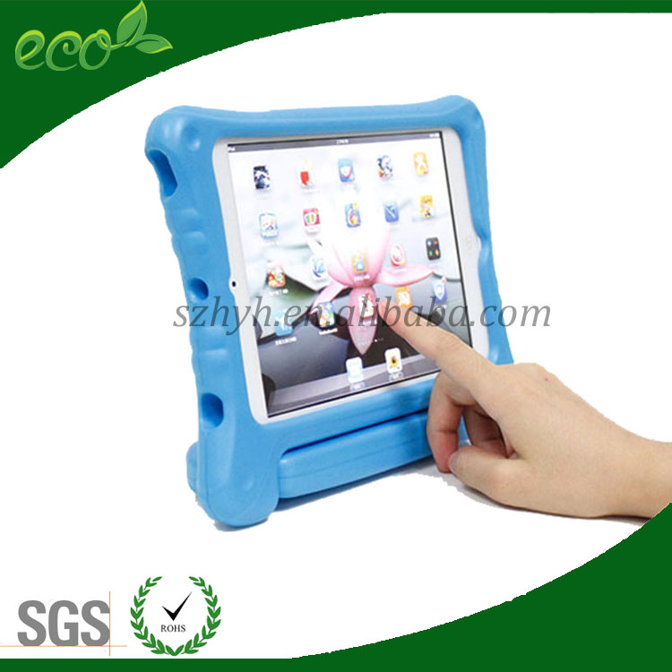 2016 new EVA Case Kids With Handle Stand Shock Proof Foam Cover for iPad Mini 1 2 3