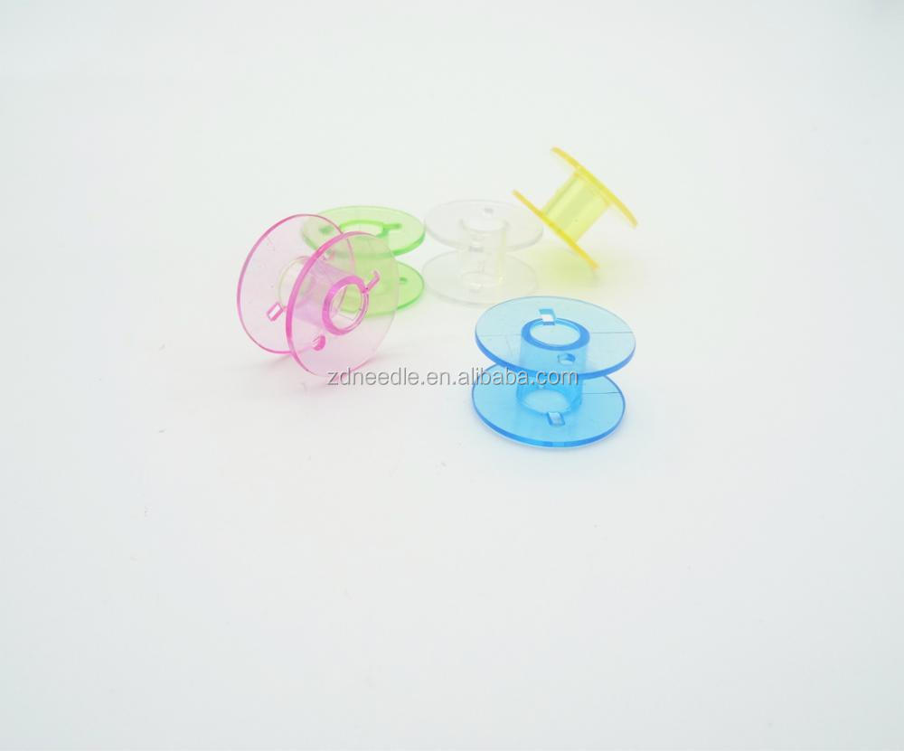 Household sewing machine plastic bobbin