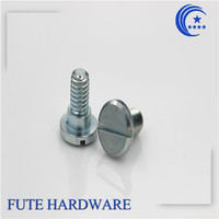 steel slotted thread forming screws for plastics