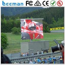 true color led video display 2015 Leeman P10 RGB outdoor p6 rental video display