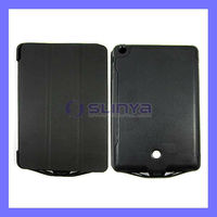 External Power Bank 6500mah Battery for iPad mini Leather Stand Case