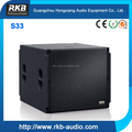 High Quality Subwoofer Speaker/ Bass arrays