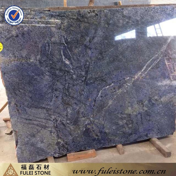 natural blue bahia granite