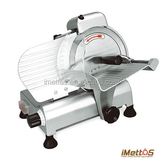 Cheap iMettos 8inch 220mm Semi-Automatic electric cheese slicer