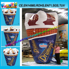 Huge Inflatable Ice Cream Cones, Inflatable Nestle Drumstick for Sale (FUNAD-4055)
