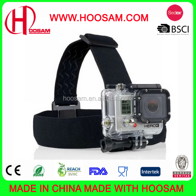 2017 New Sports Products Head strap Mount For GoPro + Quick Clip