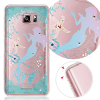 Bling Crystal Crashworthiness For Samsung Note5 soft case