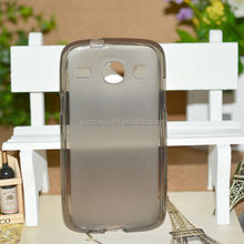 For Samsung Galaxy Core i8260 i8262 Pudding Gel Silicon TPU Back Case Factory Price
