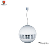 Chnlan CED-8A 20 watt 8 inch ball hanging ceiling speaker for pa sound system