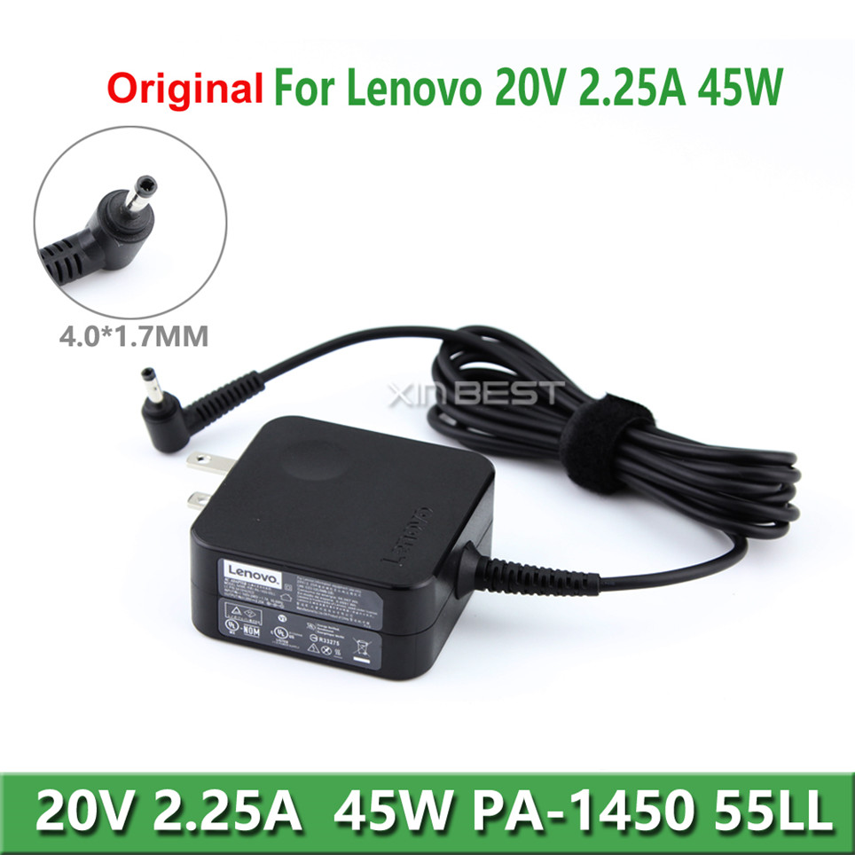 Notebook Adapter For Lenovo IdeaPad 100 Charger PA-1450-55LL 45W 20V 2.25A Laptop Charger