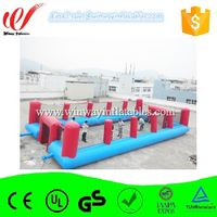 Water proof & fire retardant inflatable football field W6068