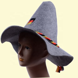 New Hot selling German oktoberfest felt hat Erdinger felt hat felt bavarian  hat 205b57945a62