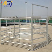 pvc coated pasture welded corral fence panel for horse