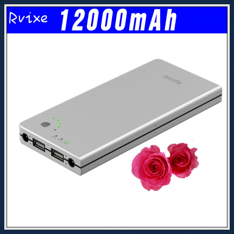 rechargeable external battery pack 12v for laptop 12000mah power bank