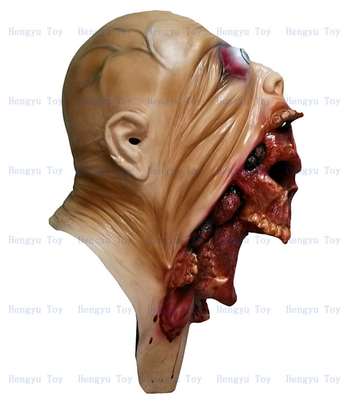 Popular High Quality Latex Devil Mask Fancy Dress Costume Halloween Ghost Mask
