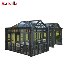 Villa Luxury Tempered Insulated Aluminum Garden Greenhouse Outdoor Glass Room