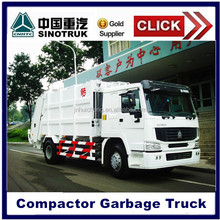 Sinotruk Howo 16 M3 Compressed waste Garbage Compactor Truck For Sale