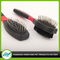 Dog Pet Fur Cleaning Grooming Tool Thick Thin Dog Cat Pin Brush Comb