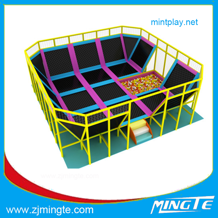 Free design fashional Kids Funny Zone plastic playground fence commercial from Mingte