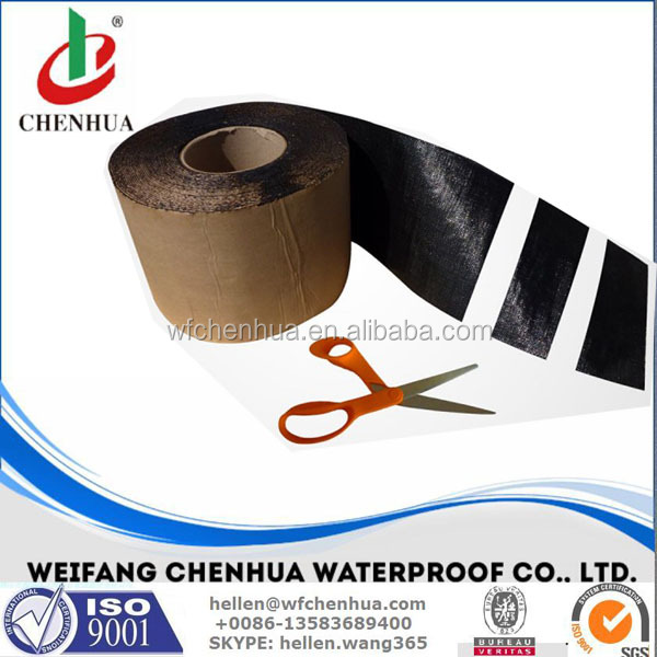 Construction building self-adhesive bitumen flashing band for waterproof sealing
