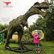 Larger Image Amusement Park Decoration Life Size Fiberglass Dinosaur For Sale