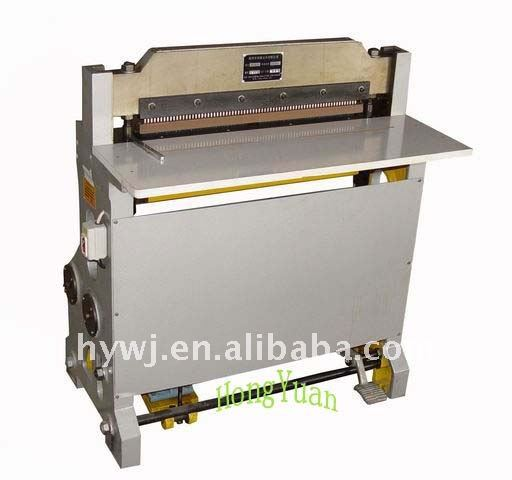 semi-auto paper hole punching machine for small printing use
