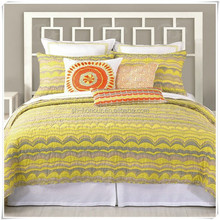 Quilted Cotton Fabric Bedding Set