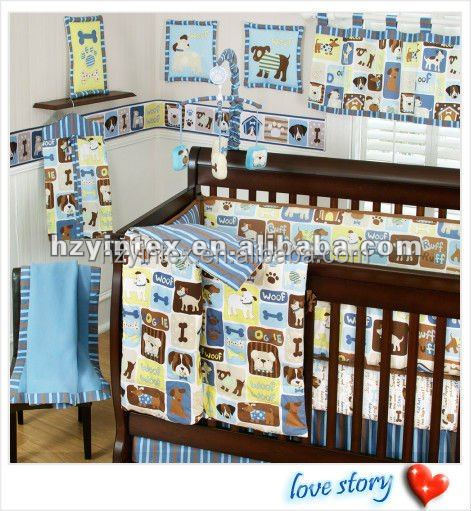 High quality comfortable and soft baby crib bedding set