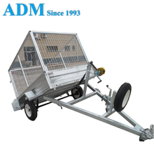 Strong Tipper Box Utility Trailer with Winch
